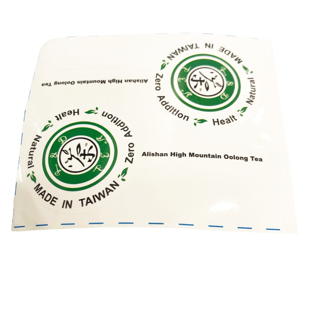 J3 R&D TEA Sticker (Allishan High Mountain Oolong Tea) 100piece/Bag