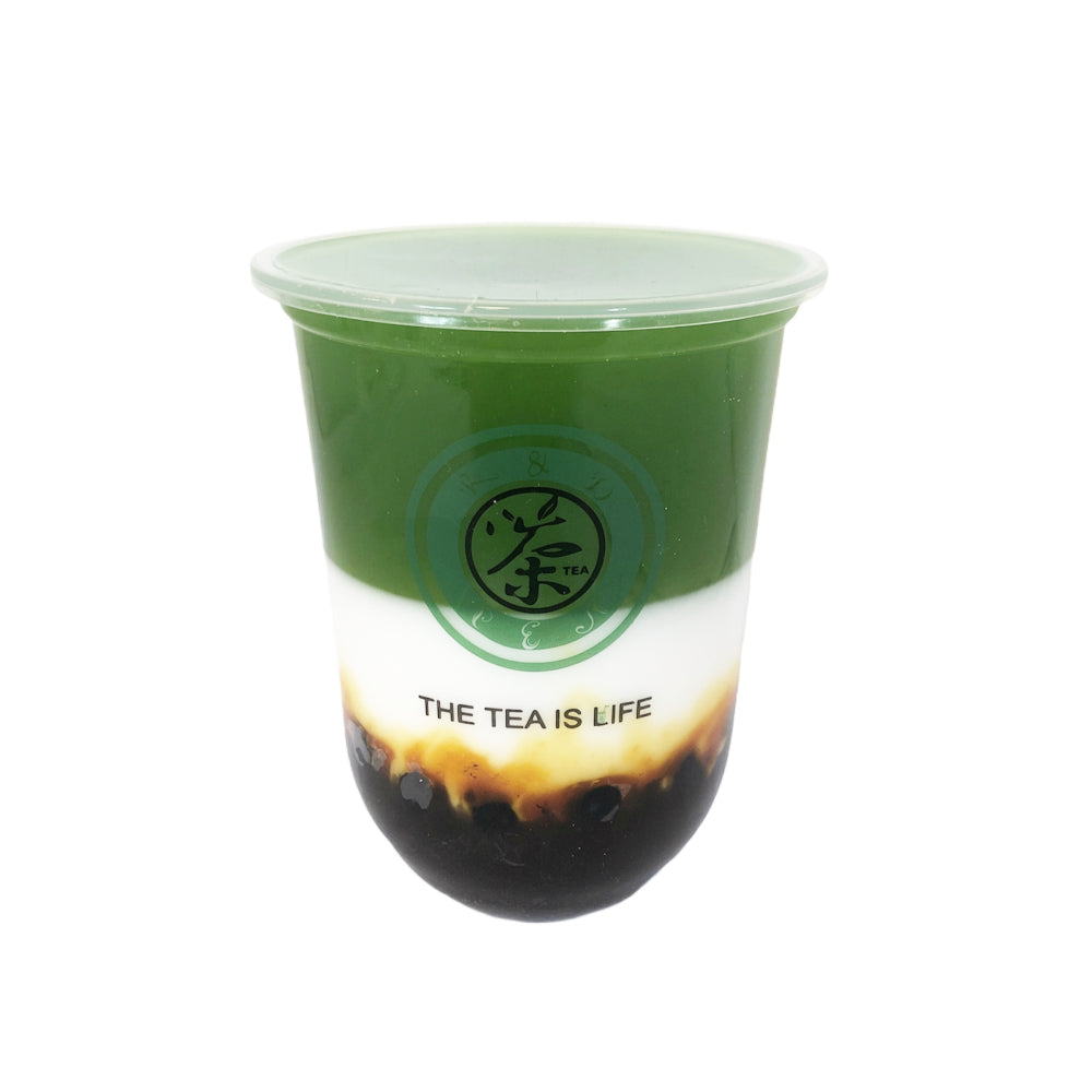 M15 R&D TEA 500ml Cup Matcha Bubble Milk Tea Model