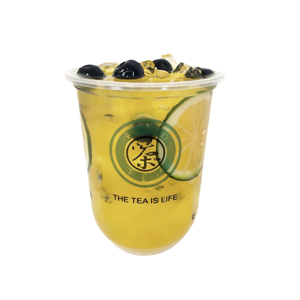 M17 R&D TEA 500ml Cup Passion Fruit Green Tea Model