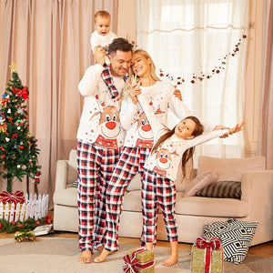 【Only 650 sets left】2020 best Christmas family pajamas 2-piece set