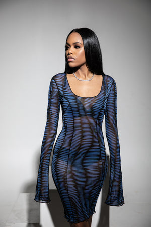 Pulse Sheer Dress