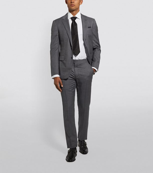 Izac Suit 100% wool  Slim fit