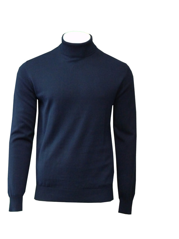 Marco Turtleneck Sweater Cotton 5Colors