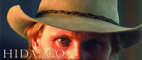 """Inspired by the hat made by Baron Hats and worn by Viggo Mortensen in """"Hidalgo"""""""