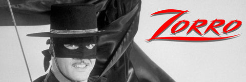 Inspired by the hat worn by Guy Williams as Zorro in Walt Disney's TV 1957 series