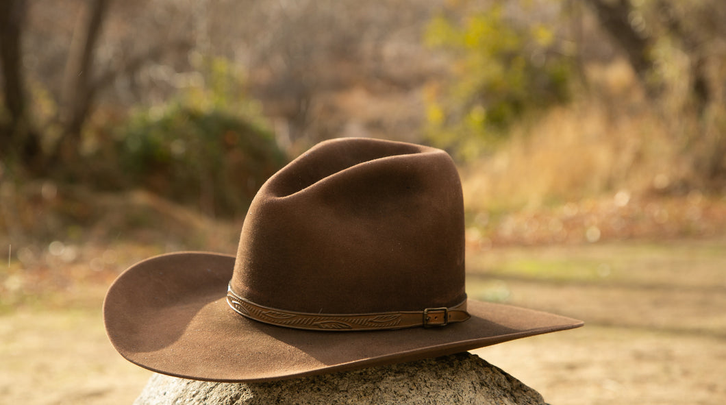 Gus Crown Western in Chocolate Brown