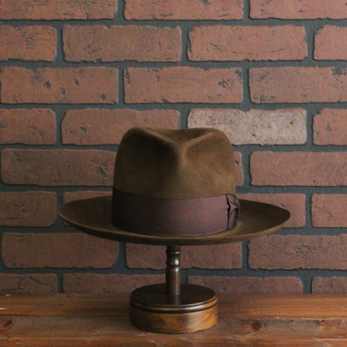 Inspired by the hat worn by JOHNNY DEPP as John Dillinger in