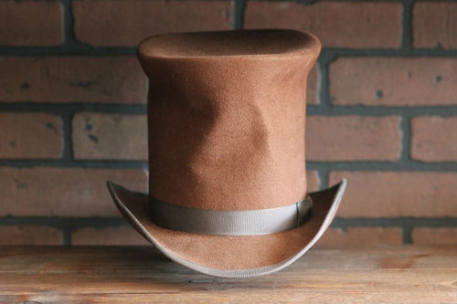 This is a replica of the top hat worn by Matt Smith in the Christmas Carol episode of Doctor Who.
