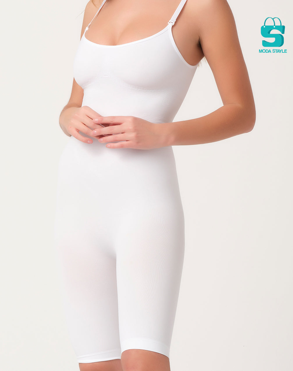 Bermuda compression corset with bras - Moda Stayle