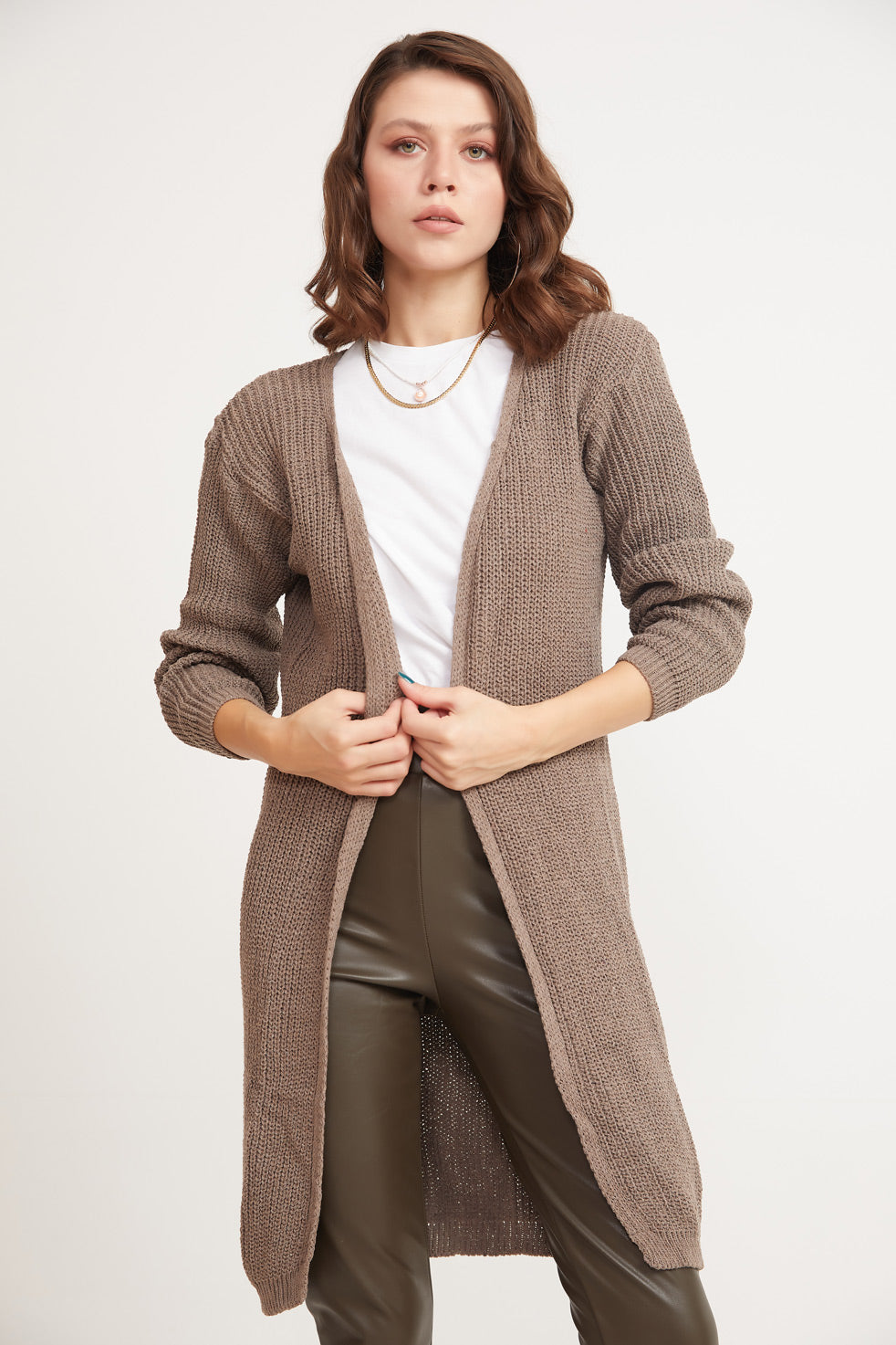 Vizon Front Open Thessaloniki Cardigan