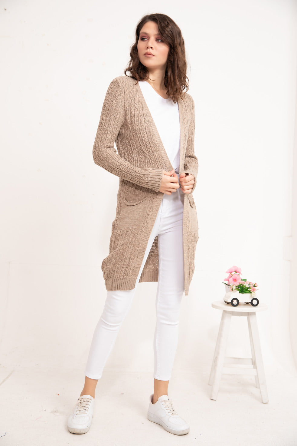 Vizon Patterned knitwear Cardigan