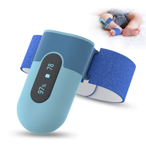Baby Oxygen Foot Monitor - Blue