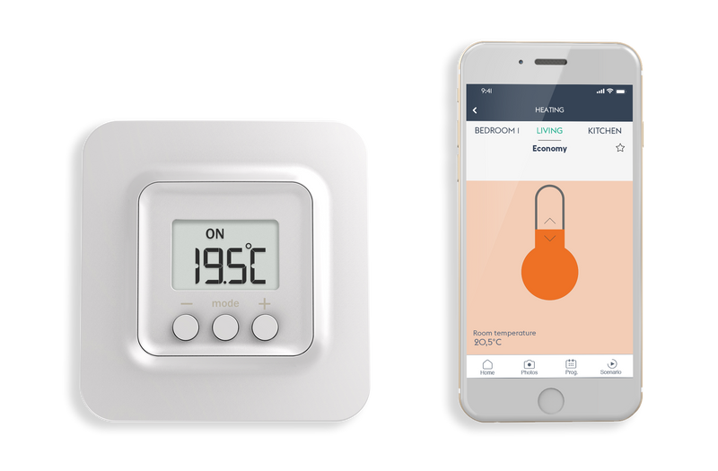 Smart thermostat starter pack (wireless) - Tybox 5100 pack