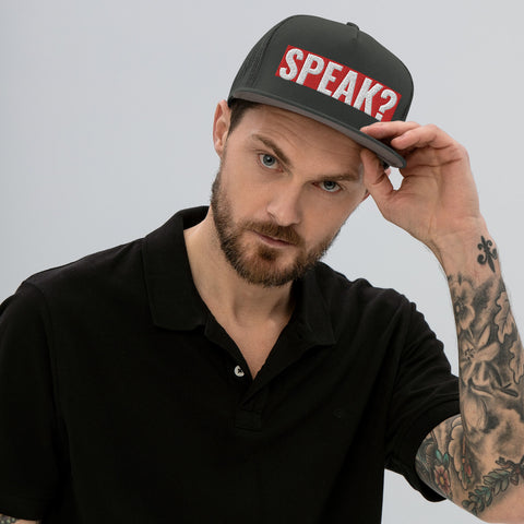 SPEAK? Mesh Back Snapback