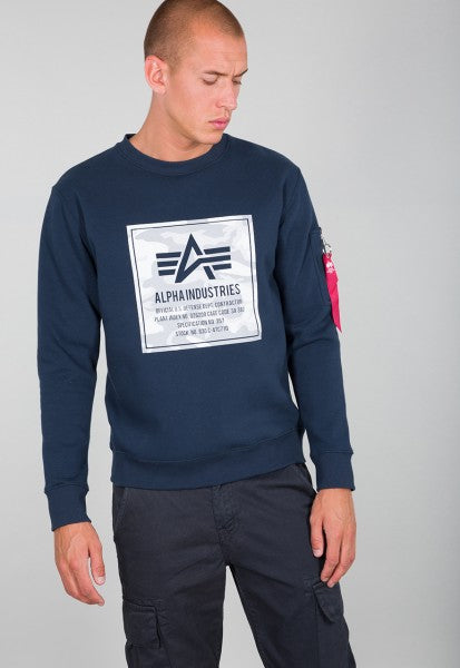 Alpha Camo Block Sweatshirt 198304