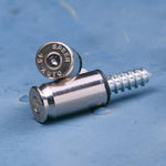.45 Cal License Plate Fasteners Chrome plated