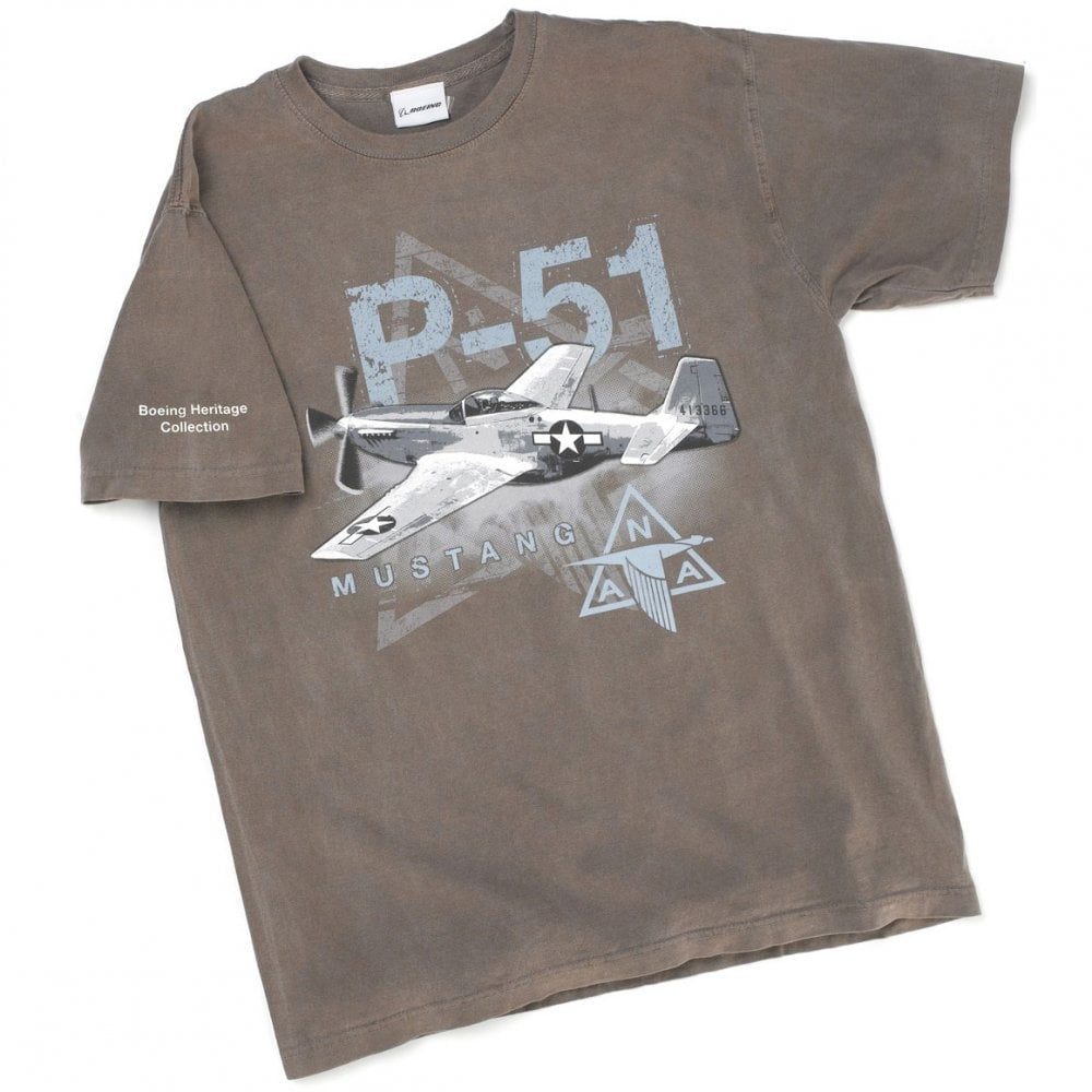 T-Shirt Short Sleeve P-51 Heritage