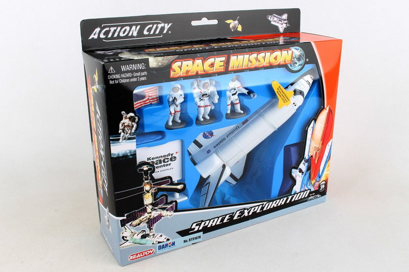 SPACE SHUTTLE Exploration Mission Playset