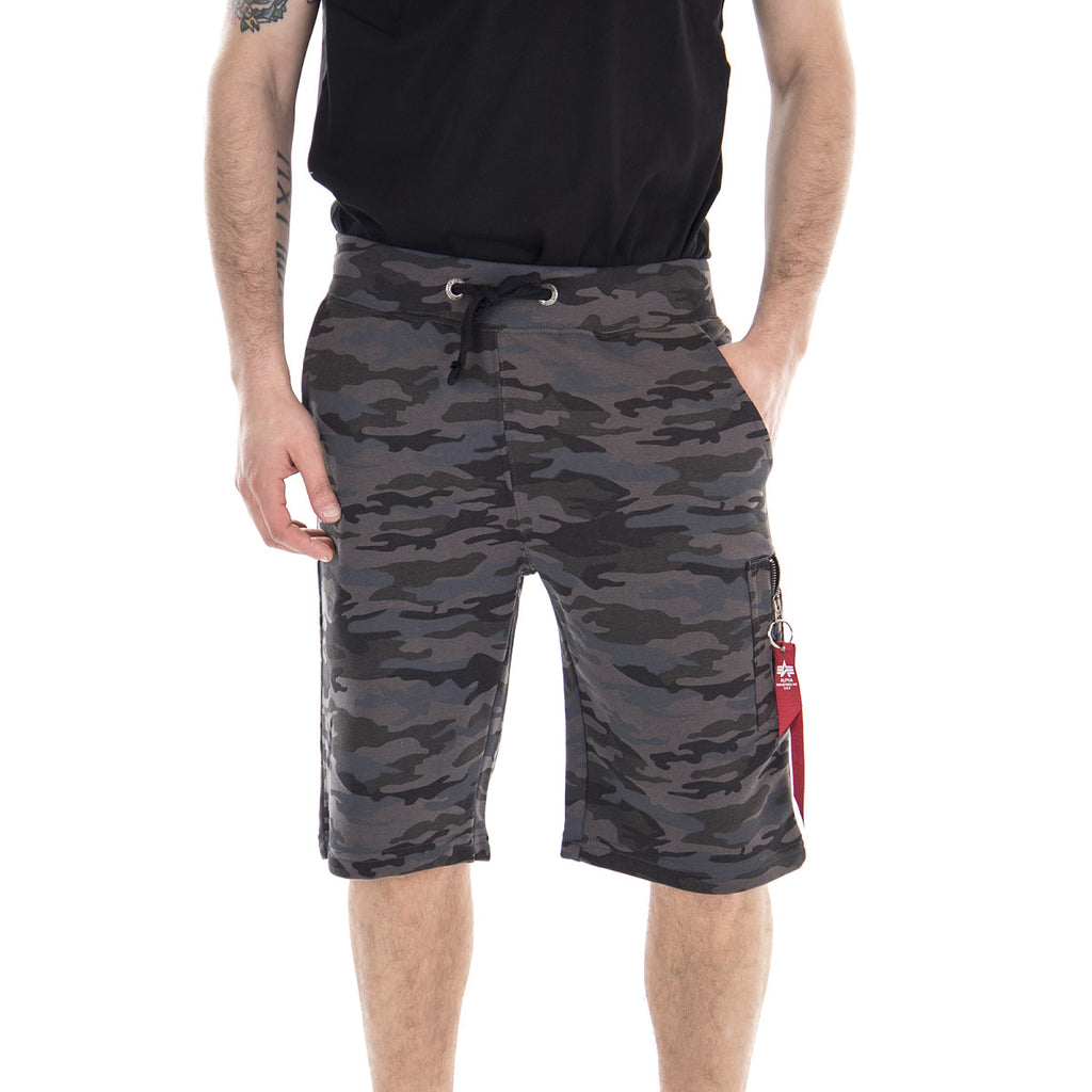 Alpha Shorts X-Fit Cargo Camo 166301C