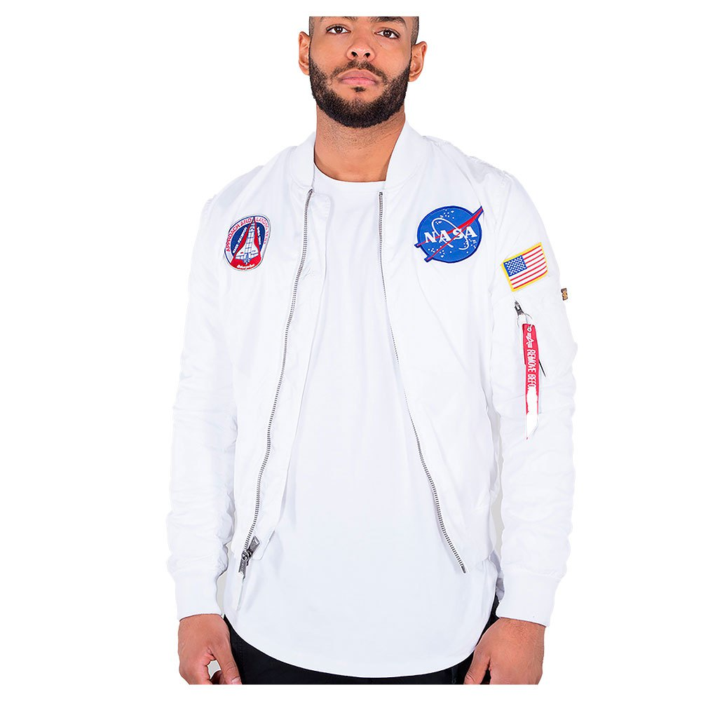 Alpha NASA Bomber Jacket MA-1 TT 186101
