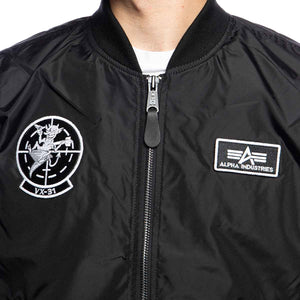 Bomber Jacket MA-1 TT GLOW IN THE DARK 116102