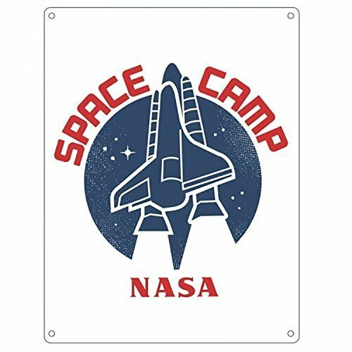 NASA Space Camp Metal Wall Sign