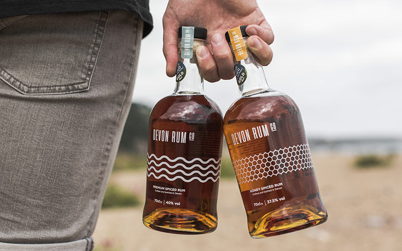 Devon Rum Company Premium and Honey Spiced Rums win two Taste of the West Gold Awards