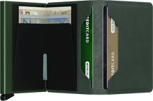 Secrid - Slimwallet Original Green טען תמונה לגלריה