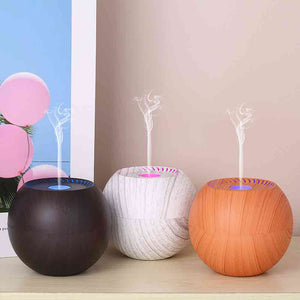 Water Droplets Air Purification Oil Diffuser