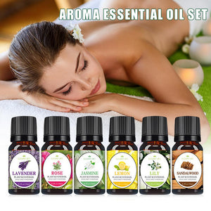 100% Natural Pure Essential Oil Kit