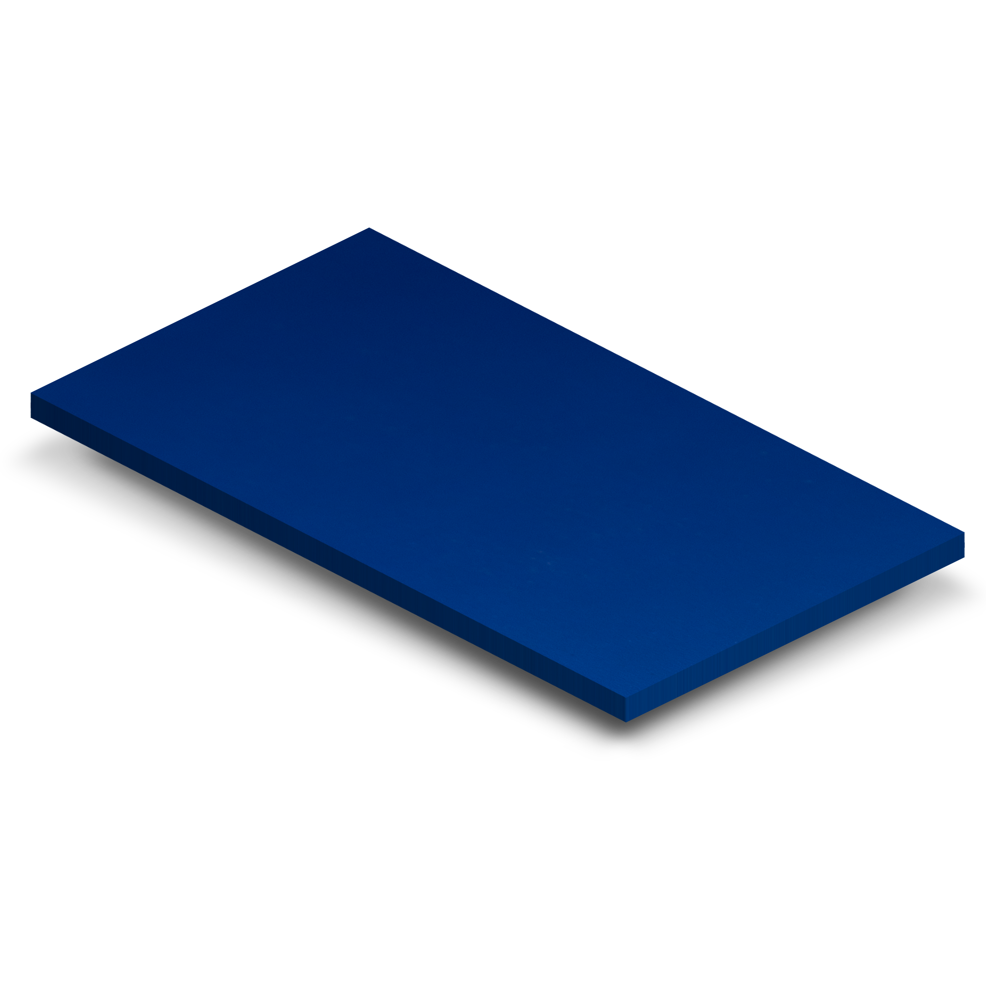 3 x 5 Blue Matte Sample (CS-BM)