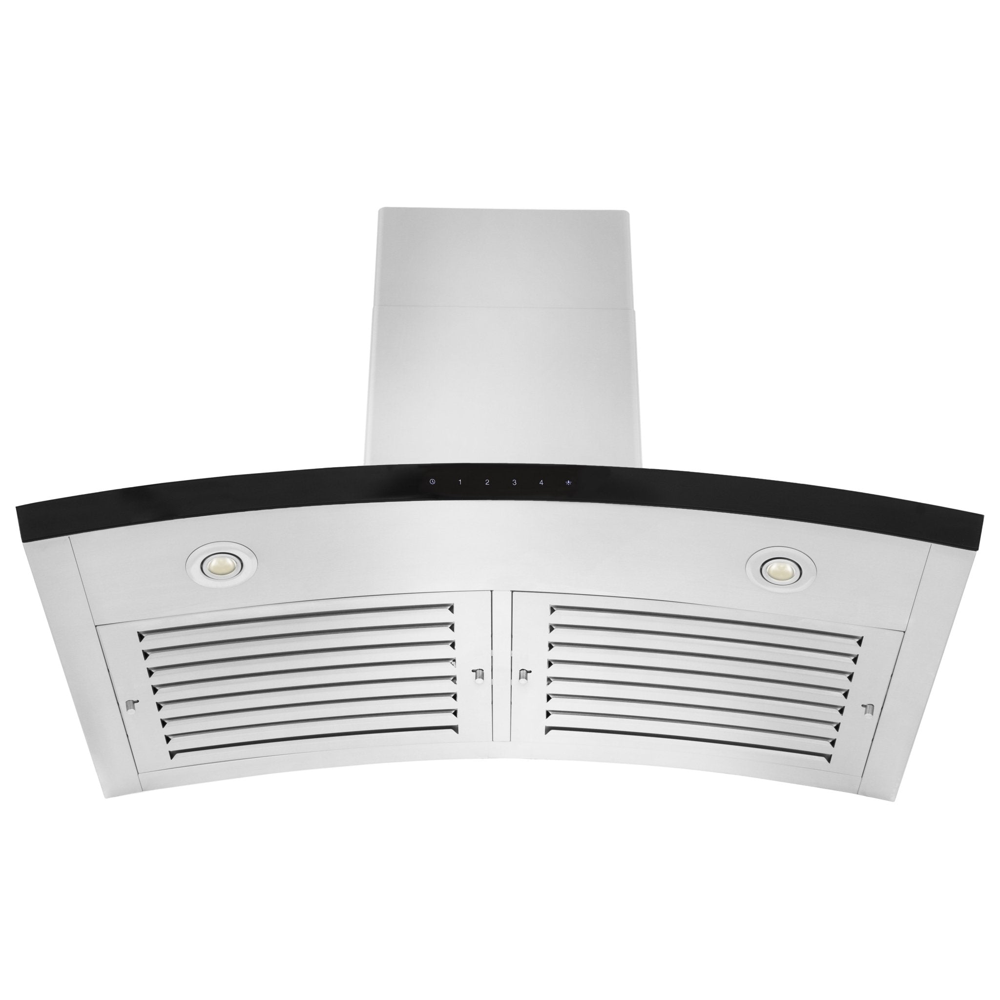 ZLINE Wall Mount Range Hood In Stainless Steel & Glass (KN6)