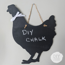 Load image into Gallery viewer, DIY Chalkboard Chicken