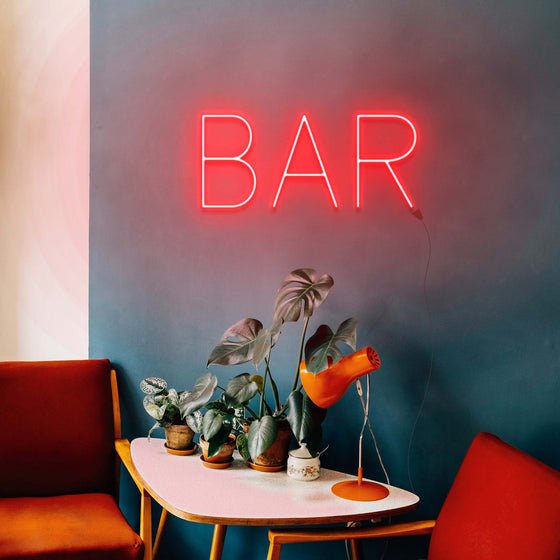 Bar - LED neon sign