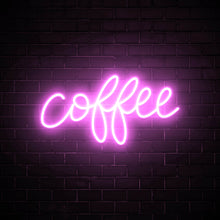 Coffee - LED neon sign