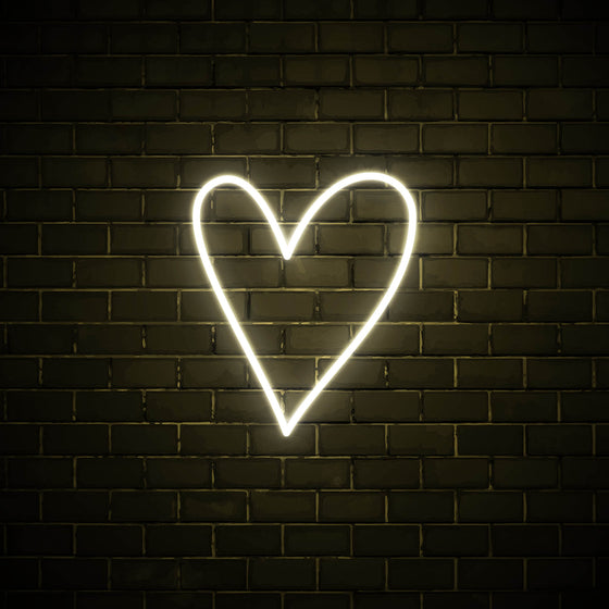 Heart - LED neon sign