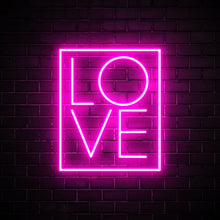 Love Box - LED neon sign