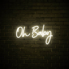 Oh Baby - LED neon sign