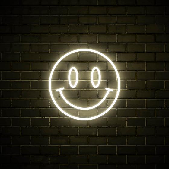 Smiley - LED neon sign