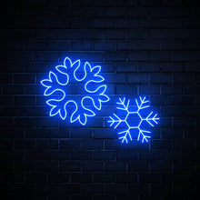 Snowflakes - LED neon sign