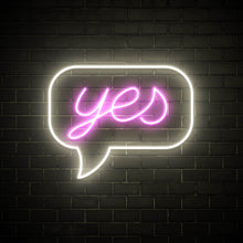 Say Yes - LED neon sign