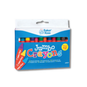 Kid-Eco Large Wax Crayons