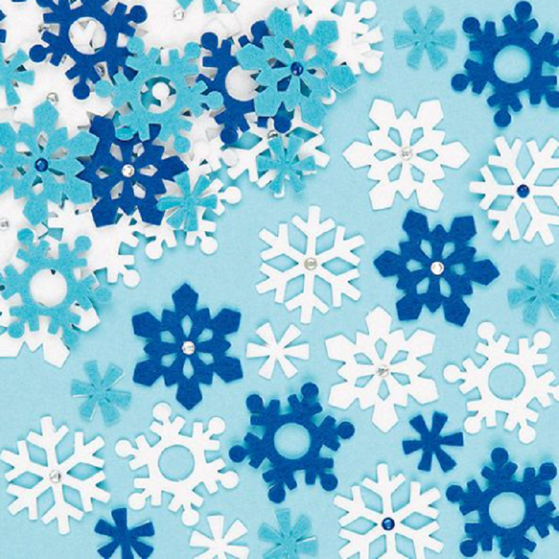 Kid-Eco Snowflake Stickers
