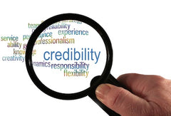 seo builds credibility