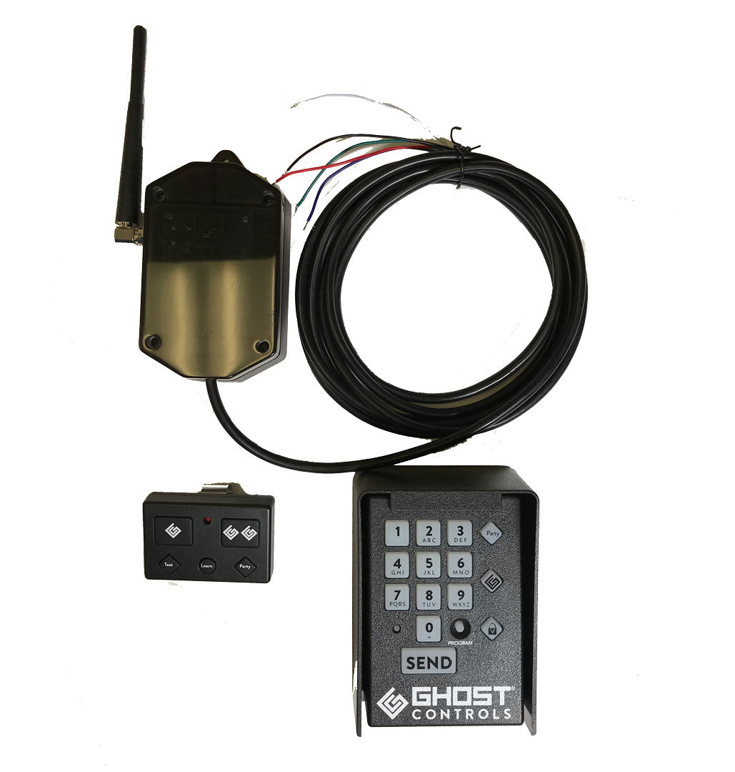 Universal Receiver Kit with Keypad and Premium Remote Transmitter