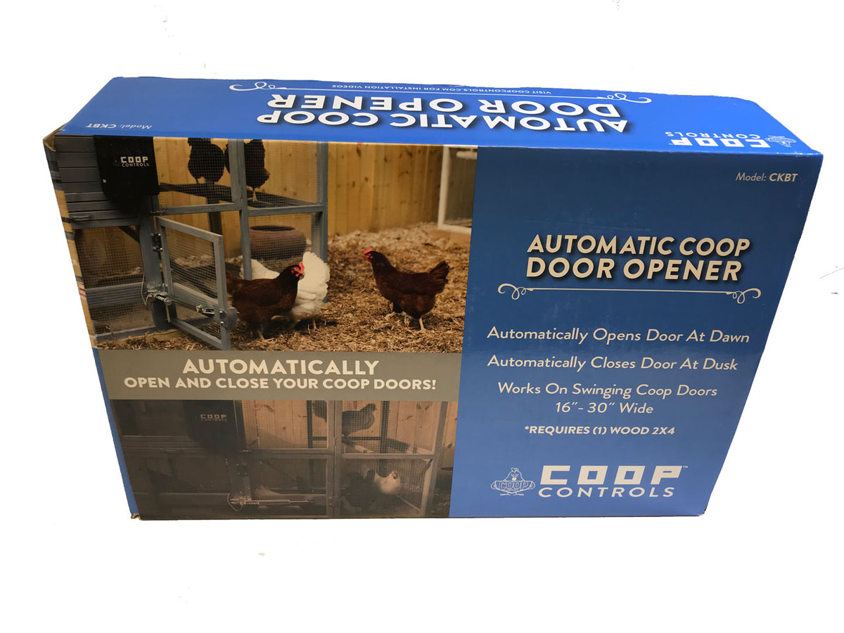Automatic Coop Door Opener with Battery Kit