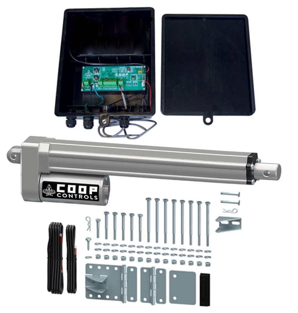 Automatic Coop Door Opener <br> without Battery Kit