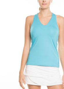 ACTIVE TOPS V NECK TANK
