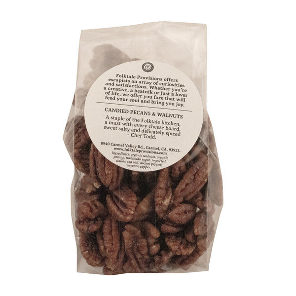 Organic Candied Pecans & Walnuts