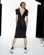 Load image into Gallery viewer, Polo Collar Dress - Black